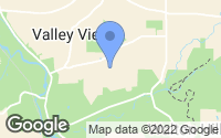 Map of Valley View, OH