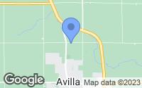 Map of Avilla, IN