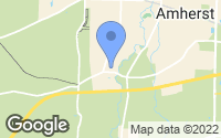 Map of Amherst, OH