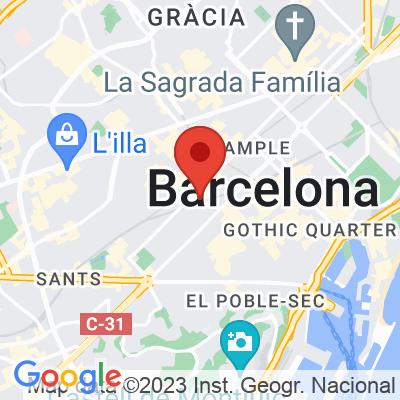 Map showing OMA Bistró