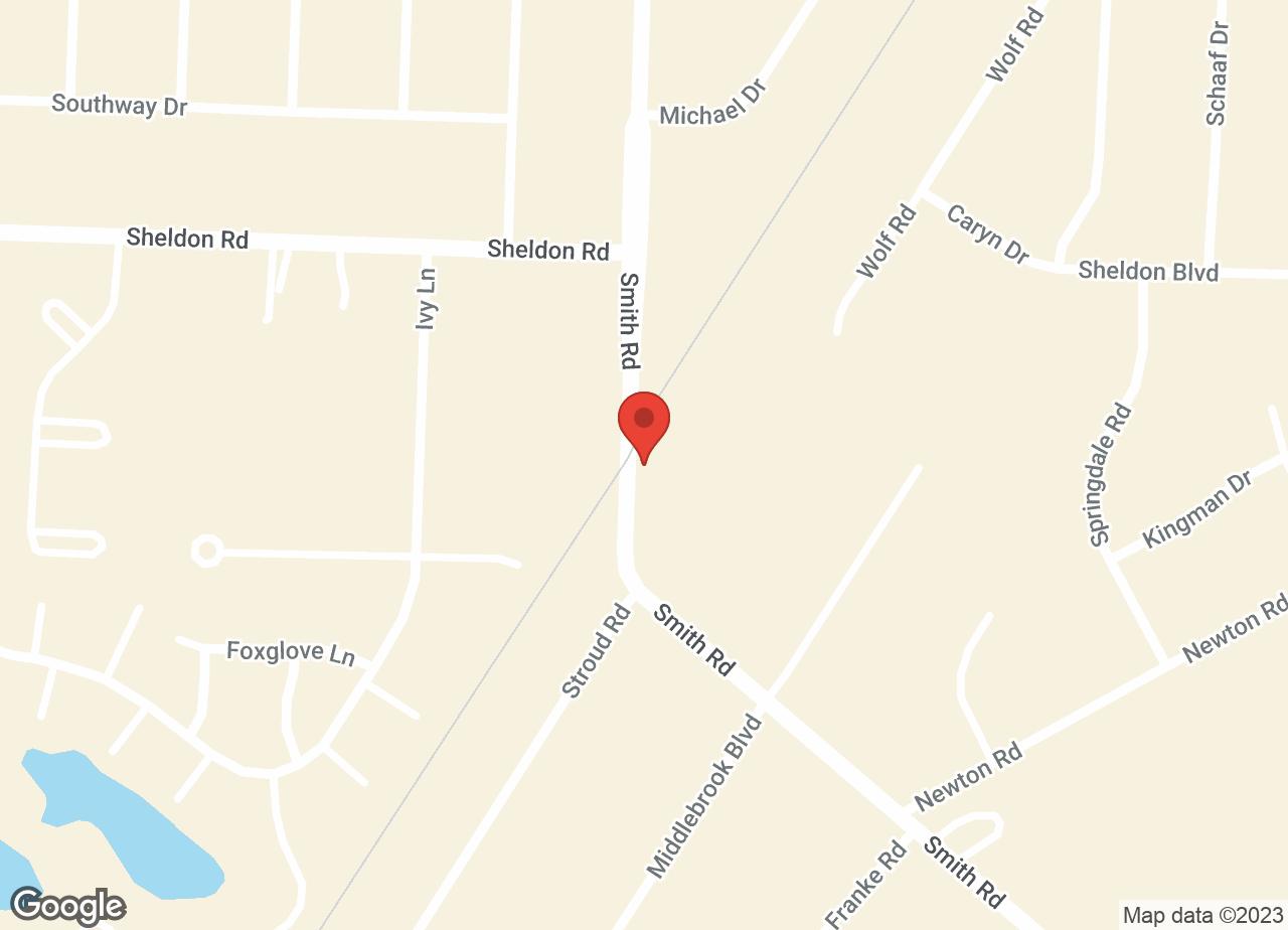 Google Map of VCA Midpark Animal Hospital