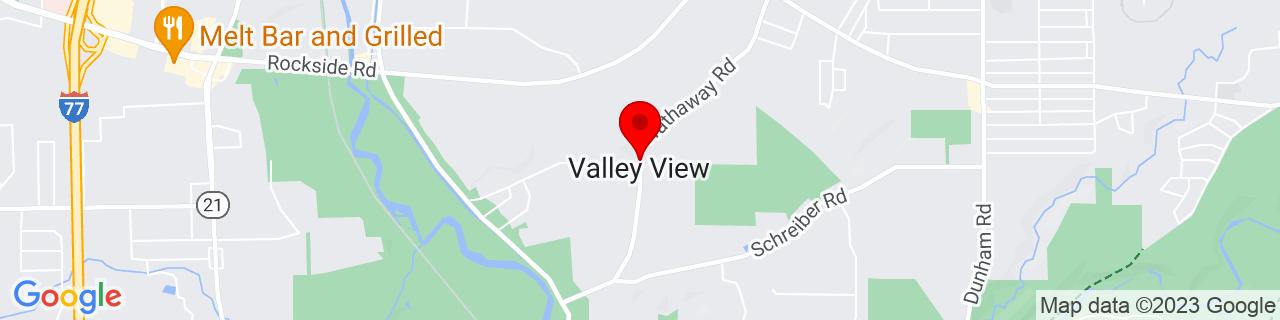 Google Map of 41.3878312, -81.6045685