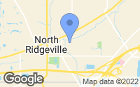 Map of North Ridgeville, OH