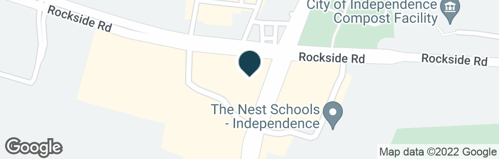 Google Map of6900 ROCKSIDE RD