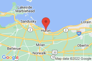 Map of Huron