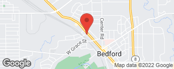 Map of 450 Broadway Ave in Bedford