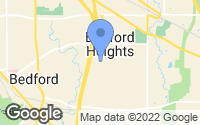Map of Bedford Heights, OH