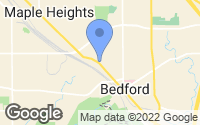 Map of Bedford, OH