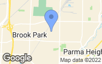 Map of Brook Park, OH