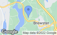 Map of Brewster, NY