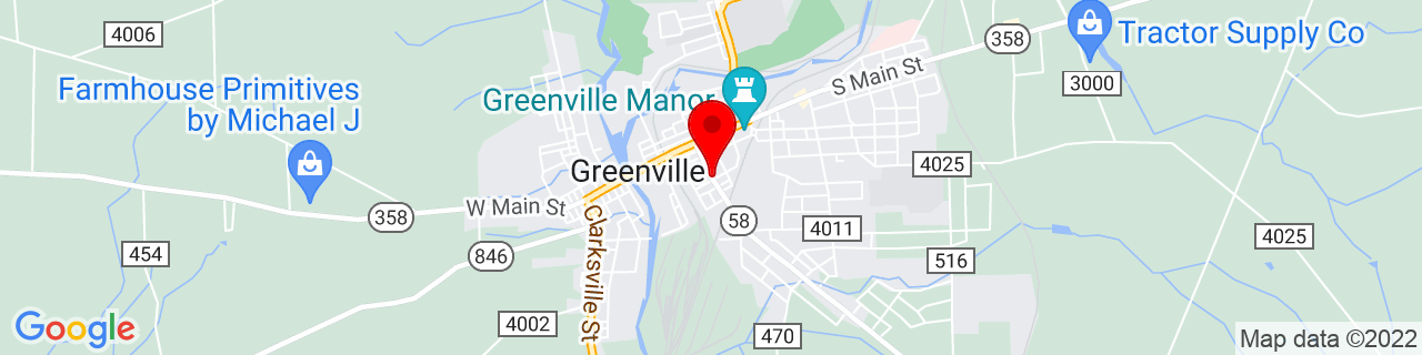 Google Map of 41.40362409999999, -80.3861996
