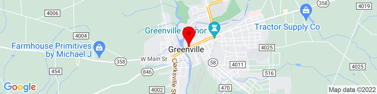 Google Map of 41.404499, -80.39117850000001