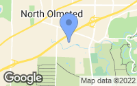 Map of North Olmsted, OH