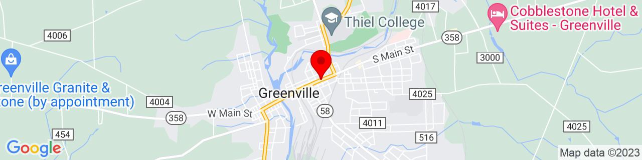 Google Map of 41.4061398, -80.385727