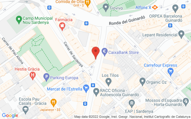 Administración nº262 de Barcelona