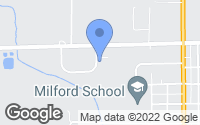Map of Milford, IN