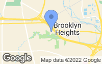 Map of Brooklyn Heights, OH