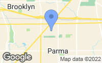 Map of Parma, OH