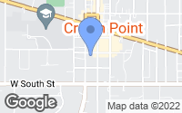 Map of Crown Point, IN