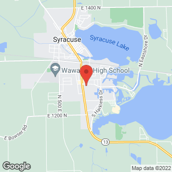 "Map of <span class=""LocationName"" itemprop=""name"" id=""location-name""><span class=""LocationName-brand"">AT&amp;T Store</span> <span class=""LocationName-geo"">Syracuse</span></span> at 201 E Pickwick, Syracuse, IN 46567"