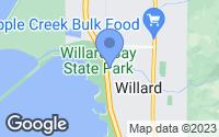 Map of Willard, UT