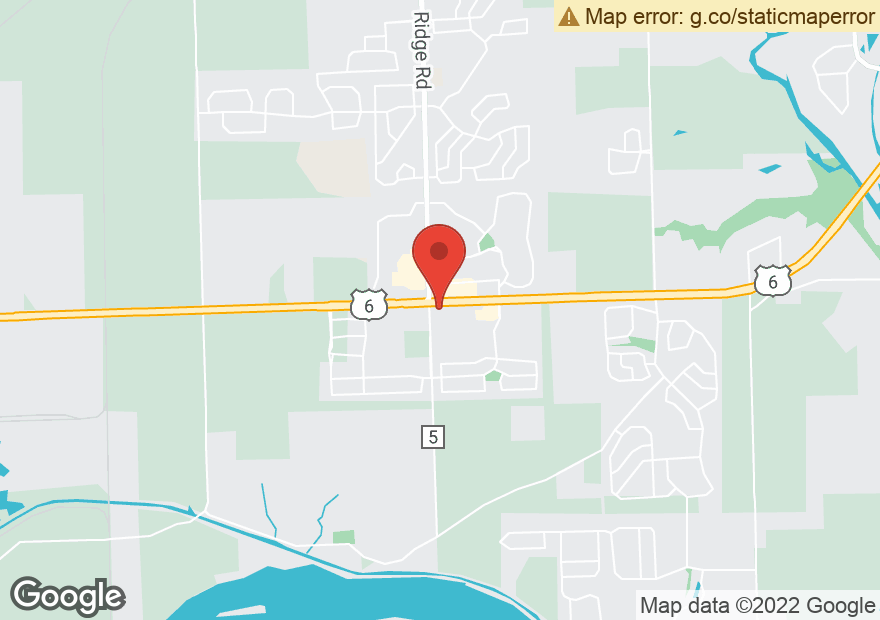 Google Map of 27155 W EAMES ST