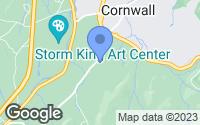 Map of Cornwall, NY