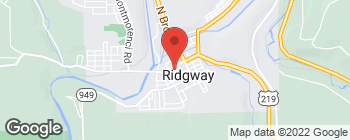 Map of 12 S Mill Ave in Ridgway