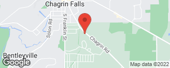Map of 7227 Chagrin Rd in Chagrin Falls
