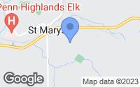 Map of Saint Marys, PA