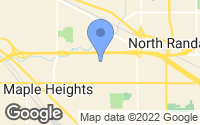 Map of Maple Heights, OH