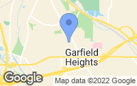 Map of Garfield Heights, OH