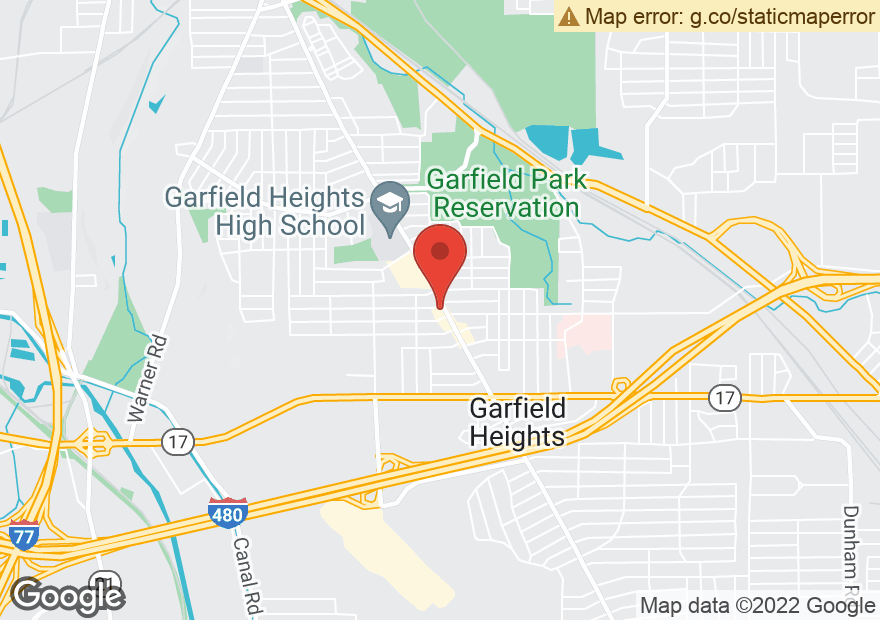 Google Map of 5090 TURNEY RD