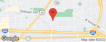 Map of 4719 State Rd in Cleveland