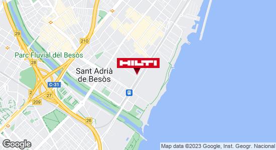 Tienda Hilti - Barcelona (Mataró)