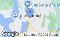Map of Carmel Hamlet, NY