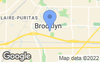 Map of Brooklyn, OH