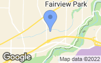 Map of Fairview Park, OH