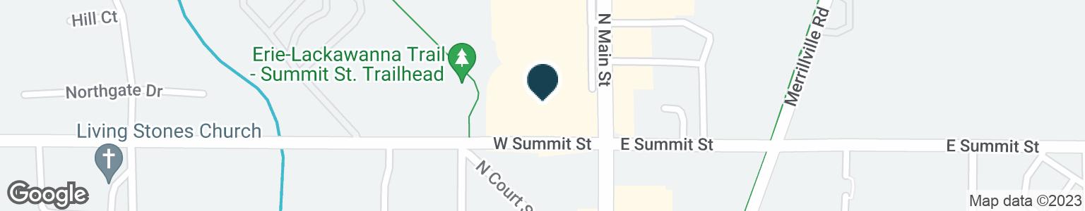 Google Map of1003 N MAIN ST