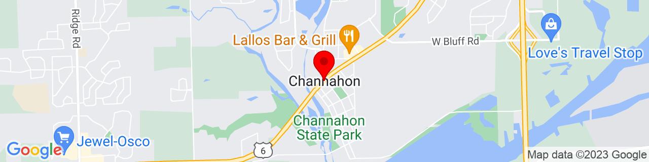 Google Map of 41.4294753, -88.2286735