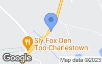 Map of Charlestown, RI