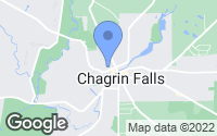 Map of Chagrin Falls, OH