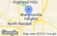 Map of Warrensville Heights, OH