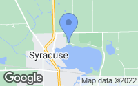 Map of Syracuse, IN