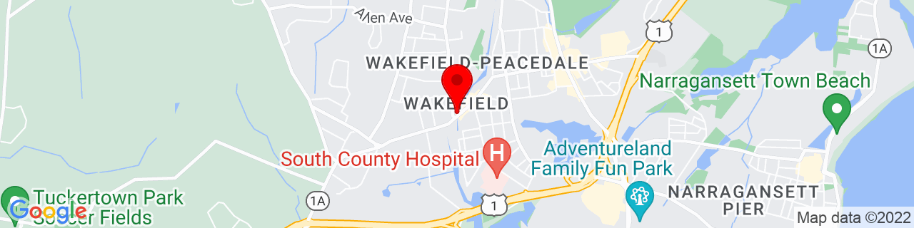 Google Map of 41.43722222222222, -71.50138888888888