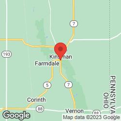 Kinsman BP on the map
