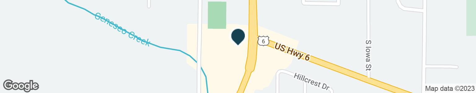 Google Map of1009 S OAKWOOD AVE