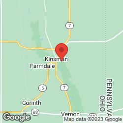 Kinsman Volunteer Fire Department on the map