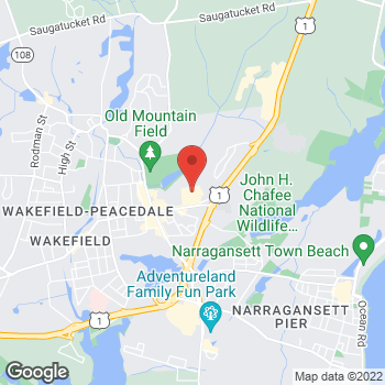 Map of Panera Bread at 160 Old Tower Hill Road, Wakefield, RI 02879