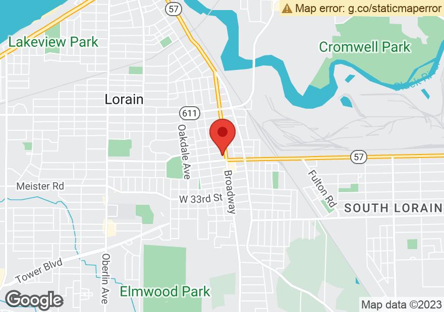 Google Map of 2730 BROADWAY